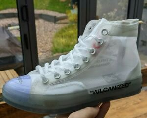 Converse All Star 'Chuck The Ten' Vulcanized Size 7.5 GENUINE SAMPLES