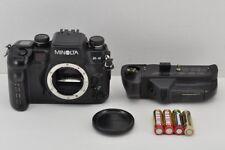 Minolta Alpha 9/a9/a-9/Maxxum 9 Filmkamera mit VC-9 Akku Pack #171004n