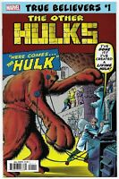 True Believers Other Hulks #1 Rep Journey Into Mystery #62 (Marvel, 2019) NM