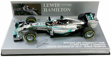 Minichamps Mercedes W05 L. Hamilton World Champ. 2014 1 43 Abu Dhabi 1440 pcs