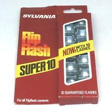 Sylvania Flip Flash Bulbs NIB NOS Kodak Instamatic 110 Camera FREE SHIPPING 3