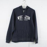 Vintage CHAMPION Wheaton College Zip Up Hoodie Jacket Size Mens XL /R42091