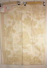 Brunschwig & Fils China Blue Cathay Toile cotton 1700's wood block Sample