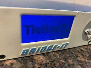 Tieline Bridge-IT Stereo IP Broadcast Audio Codec