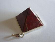 cristalloterapia PENDENTE CIONDOLO PIRAMIDE DIASPRO ROSSO 1* chakra amuleto