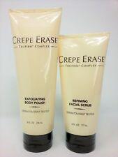 Crepe Erase Spa Day Gift Exfoliating Body Polish and Facial Scrub