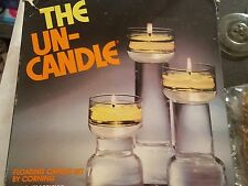 Rare! Vintage Trio UnCandle Floating Candle Box Set w/original box Complete!