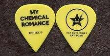 MY CHEMICAL ROMANCE 2011 Civic Tour Guitar Pick RAY TORO custom concert stage #2