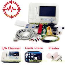 CONTEC ECG600G digitale 6 canali 12 conduce ekg elettrocardiografo,USB,stampanti