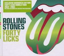 Rolling Stones Forty Licks Exclusive Hardback 2-Disc Set w/ Booklet Art MUSIC CD
