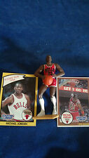 "MICHAEL JORDAN 1990 STARTING LINE-UP 4 1/2"" FIGURE W / ROOKIE YEAR CARD"