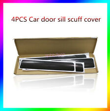 4x Car door Sill Scuff Cover Pedal Car Door Plate Protect Car Sticker Protector
