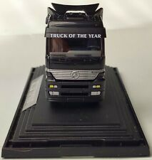 WIKING MERCEDES Actros 1843 SZM schwarz Truck of the Year PC Box 1:87 OVP 1996