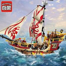 Pirates of the Caribbean marine predator No.Sets Building Toys 368pcs