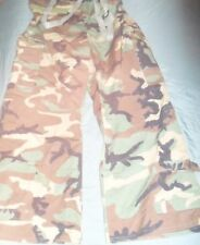 US ARMY WOODLAND CAMO TROUSERS LARGE REGULAR 8415-01-444-2325
