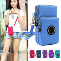 Coin Cell Phone Mini Retro Shoulder Bag Wallet Purse Leather Women Cross-body