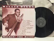 WILLIE DIXON - WALKIN' THE BLUES LP NM/NM 2010 EUROPE DOXY DOY643