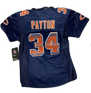 NWT Walter Payton Chicago Bears Nike Jersey Sewn Stitched Youth Medium HTF