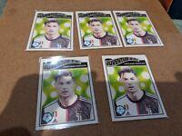 Lot of (5) 2020 Topps Living Set UCL Christiano Ronaldo Card #200 Juventus F.C.