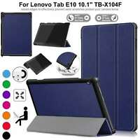 Case for Lenovo Tab E10 TB-X104F Leather Magnetic Stand Slim Book Smart Cover