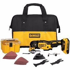 DEWALT DCS355D1 20V MAX XR Cordless Lithium-Ion Brushless Oscillating Multi-TooL