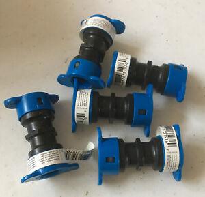 "[5 Pack]ORBIT Irrigation  Blu-Lock  1/2"" Push-On Couplings #31976"