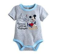 Disney Store Mickey Mouse Mamma's Little Voyager Baby Outfit Size 18 24 Months