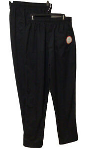 Happy Chef Poly Cotton Classic Baggy Pants, Large, Black 2 Pair One New With Tag