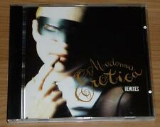 MADONNA Erotica - Remixes AUSTRALIAN 7 TRACK CD MAXI SINGLE Mint!! (Australia)