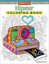 Design Originals Hipster 5499 Adult Coloring Book McArdle NEW!