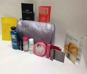 Lot of 12 Julep, L'Oreal, Garnier, Maybelline Mixed Makeup Lot & Beauty Bag