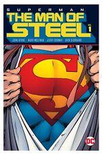 DC COMICS SUPERMAN THE MAN OF STEEL VOLUME 1 & 2 HARDCOVER HC BY JOHN BYRNE OOP