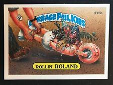 Garbage Pail Kids GPK Original Series 7 #275b Rollin' ROLAND  MINT