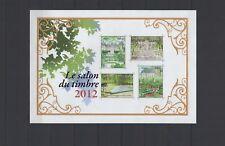 """2012 - Bloc feuillet 132 """"Le Salon du Timbre 2012"""" neuf,qualité luxe (02-004.18)"""