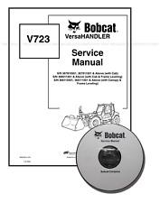 Bobcat V723 VersaHANDLER Workshop Repair Service Manual 6902760 CD + Download