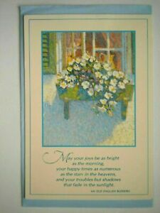 Hallmark ~ GET WELL GREETING CARD + BLUE ENVELOPE