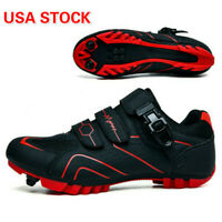 Men Mountain Cycling Shoes Outdoor MTB SPD Bike Bicycle Triathlon Racing Sneaker