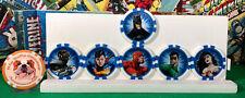 HeroClix - Action Tokens - Justice League - 6 Piece Set