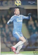 """DIDIER DROGBA """"FOOTBALL IN THE AIR"""" POSTER - Chelsea FC Premier League Soccer"""