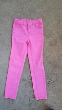LITTLE JOULES SUMMER WEIGHT pink  SKINNY JEANS 128 8