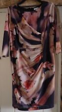 Kaliko Size 16 multi  dress with tags for £129 occasion dress Mother of Bride