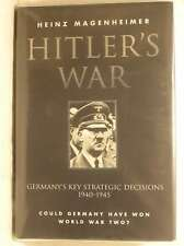 Hitler's War, Heinz Magenheimer, New Book