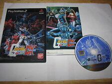 Mobile Suit Gundam Renpou vs Zeon DX Playstation 2 PS2 Japan import