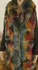 NWT Betsey John Faux Fur Vest one size fits all