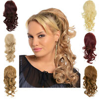 Thick Curly Drawstring Clip in 18″ Hair Piece Ponytail Pony Tail Extension