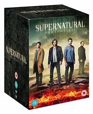 SUPERNATURAL COMPLETE SEASON 1-12 COLLECTION DVD BOX SET 71 DISCS R4 NEW&SEALED