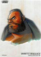 Final Fantasy 7 VII Trading Card Art Museum Coca-Cola C-03 Barett Wallace