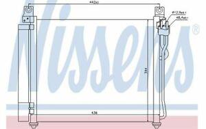 NISSENS Condensatore climatizzatore 940172 - Auto Pezzi Mister Auto