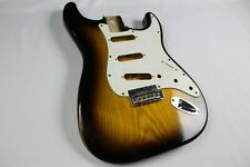 MJT Official Custom Vintage Age Nitro Guitar Body Mark Jenny VTS Sunburst 1Piece