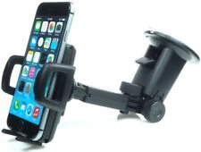 Adjustable grip phone holder + windshield suction dash mount by Herbert Richter